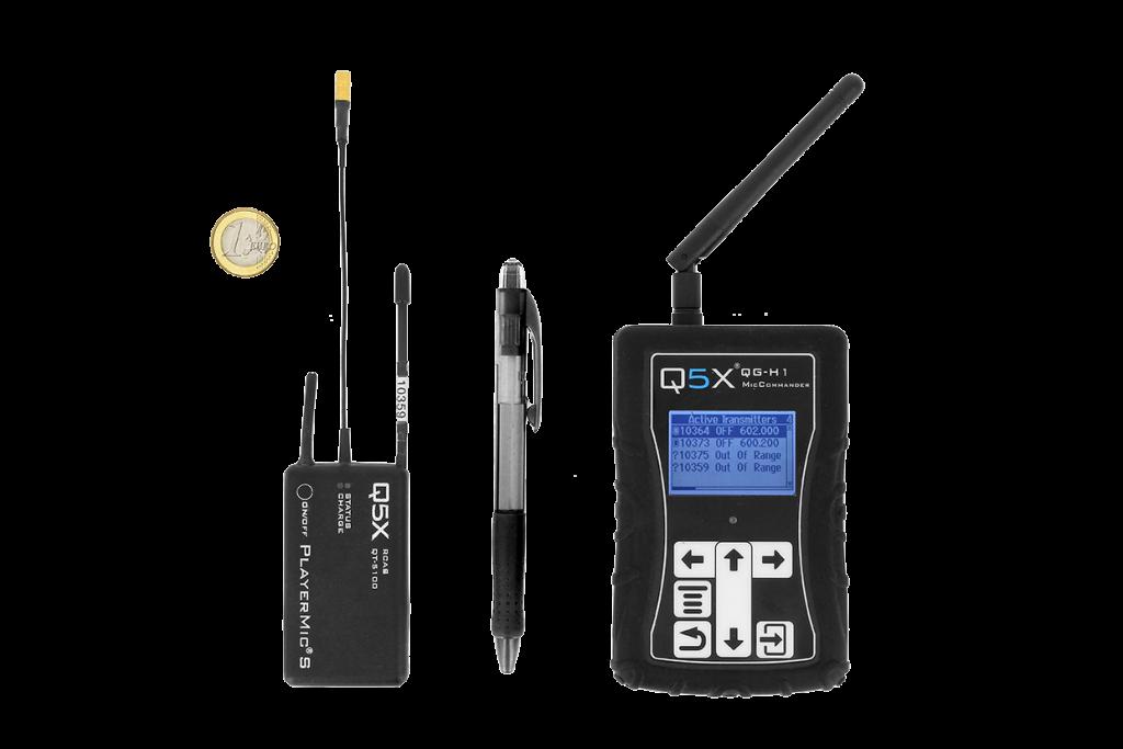 Gamme Q5X - Petits émetteurs HF