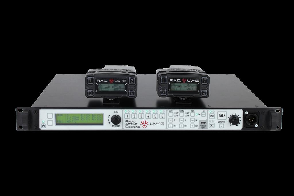 Système d'intercom - Système VHF/UHF full duplex