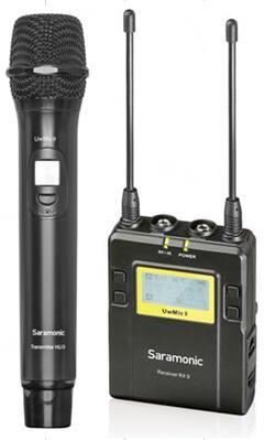 UwMic9 (HU9+RX9) - 1 émetteur main UHF + 1 récepteur pocket UHF