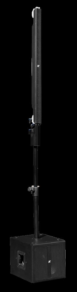 Pinnacle-KR102 I - Système stéréo line array portable actif