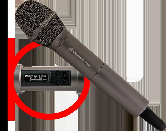MTH 400 - Emetteur main UHF