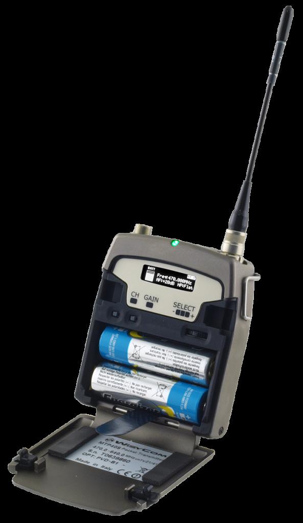 MTP 40S - Emetteur de poche UHF