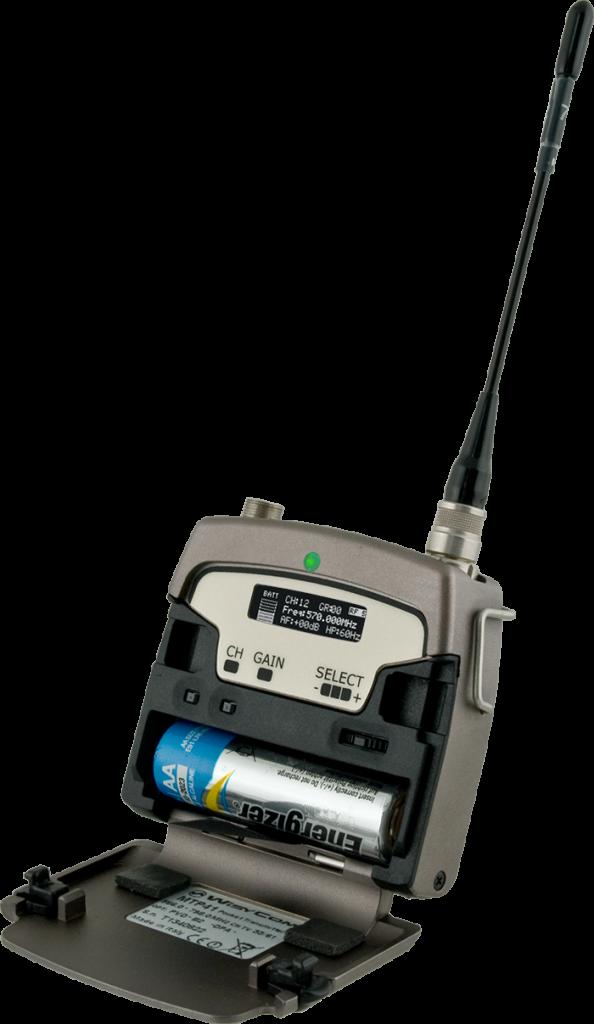 MTP 41S - Emetteur de poche UHF