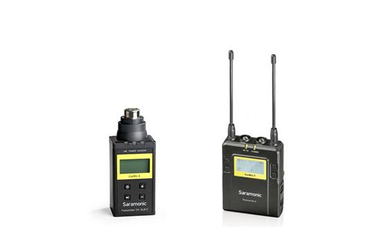 UwMic9 (TX-XLR9+RX9) - 1 émetteur «plug-on» UHF + 1 récepteur UHF