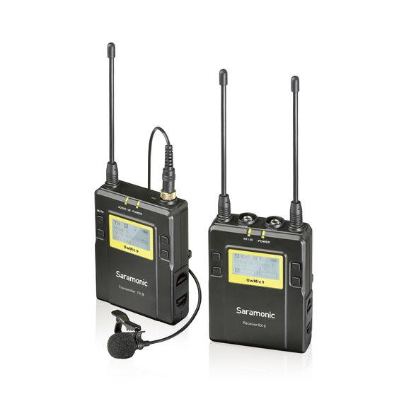 UwMic9 (TX9+RX9) - 1 émetteur pocket UHF + 1 récepteur pocket UHF