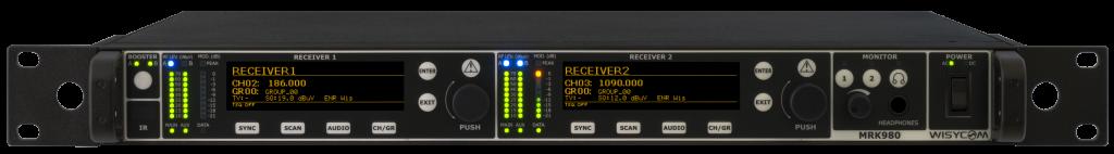 MRK 980 - Récepteur double canaux UHF