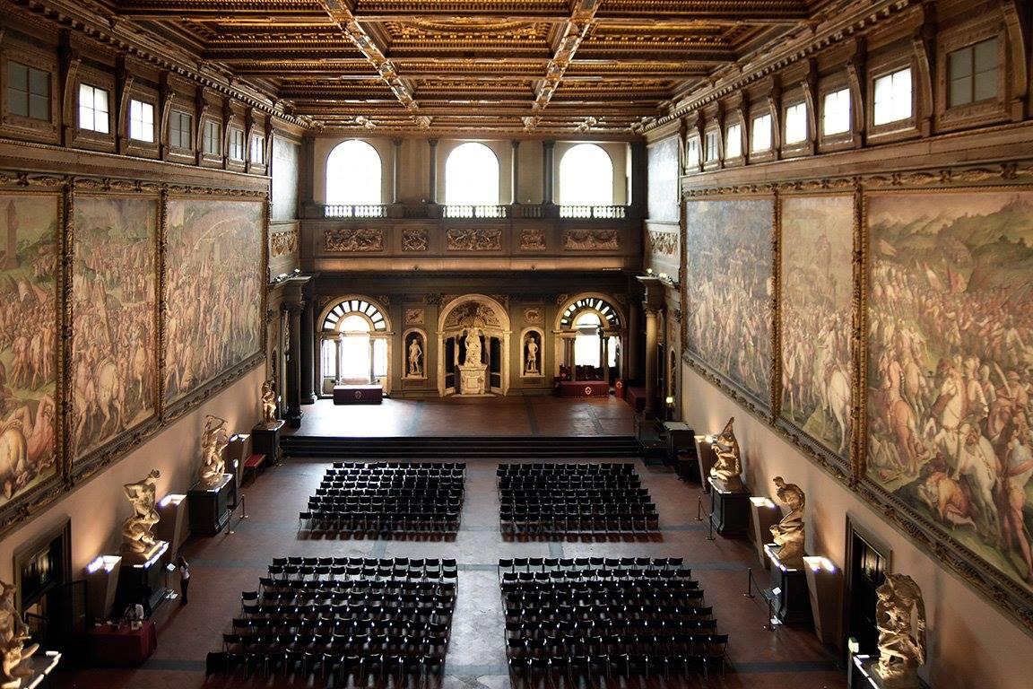 La salle des Cinq-cents du Palazzo Vecchio