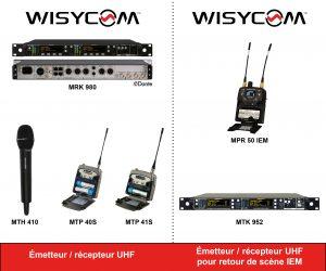 Wisycom : du Broadcast au Live, la même excellence !