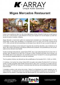 Migas Mercados Restaurant