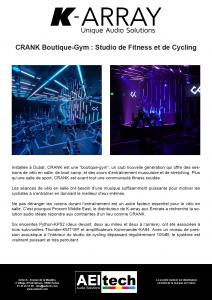 CRANK Boutique-Gym