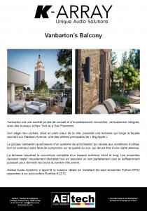 Vanbarton's Balcony