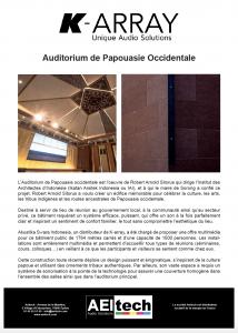 Auditorium de Papouasie Occidentale