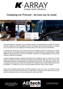 Camping-car Prevost