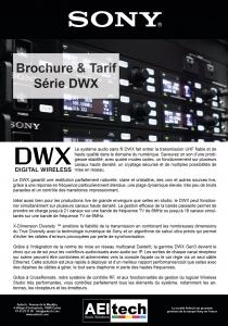 Gamme DWX Brochure & Prix