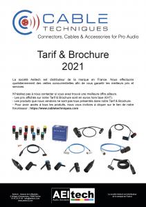 Tarif & Brochure 2021