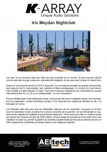 Iris Meydan Nightclub